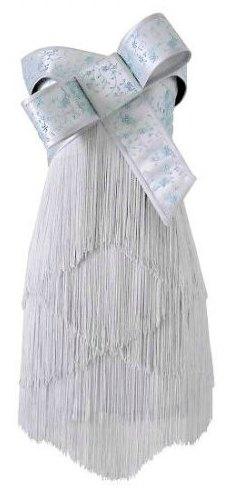 robe franges