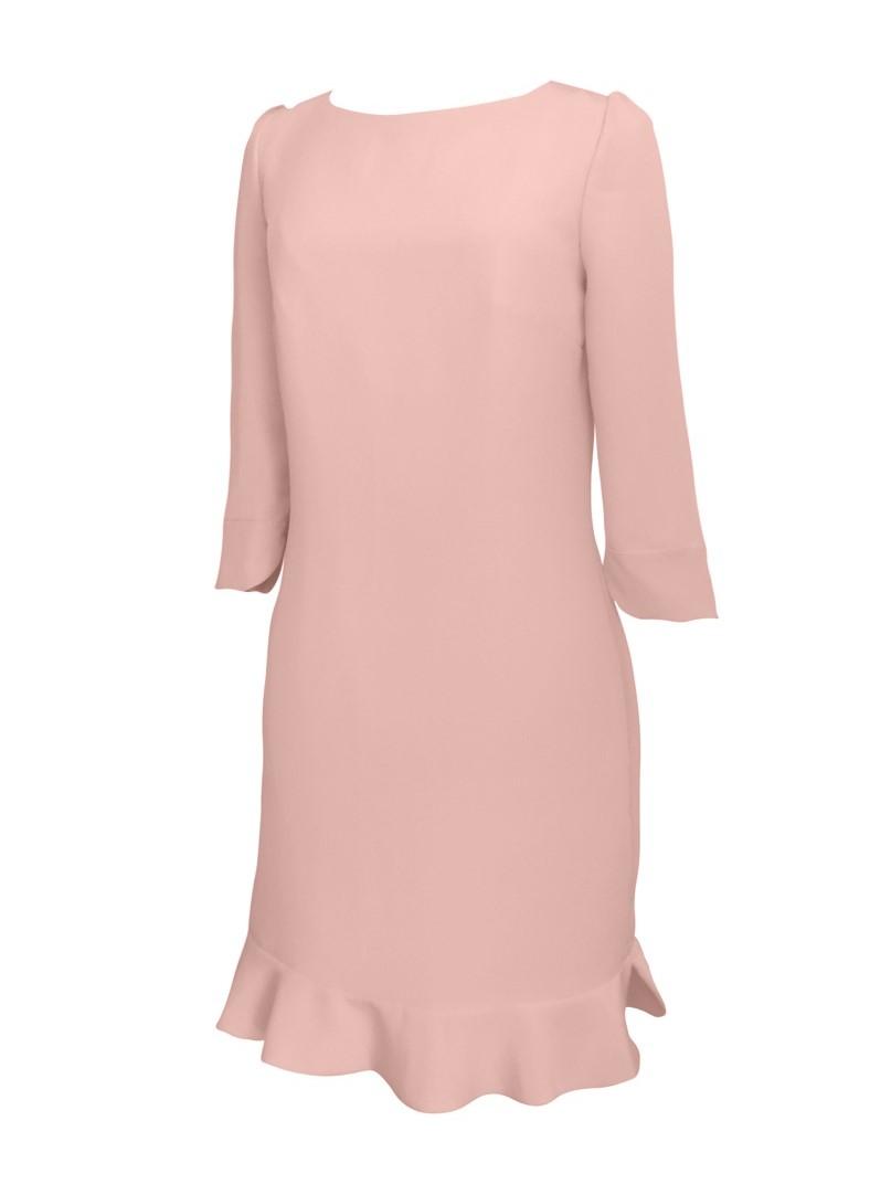 robe rose soie